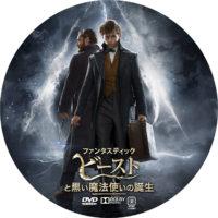 ファンタスティック・ビーストと黒い魔法使いの誕生 ラベル 02 DVD