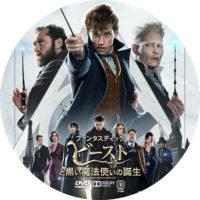 ファンタスティック・ビーストと黒い魔法使いの誕生 ラベル 01 DVD
